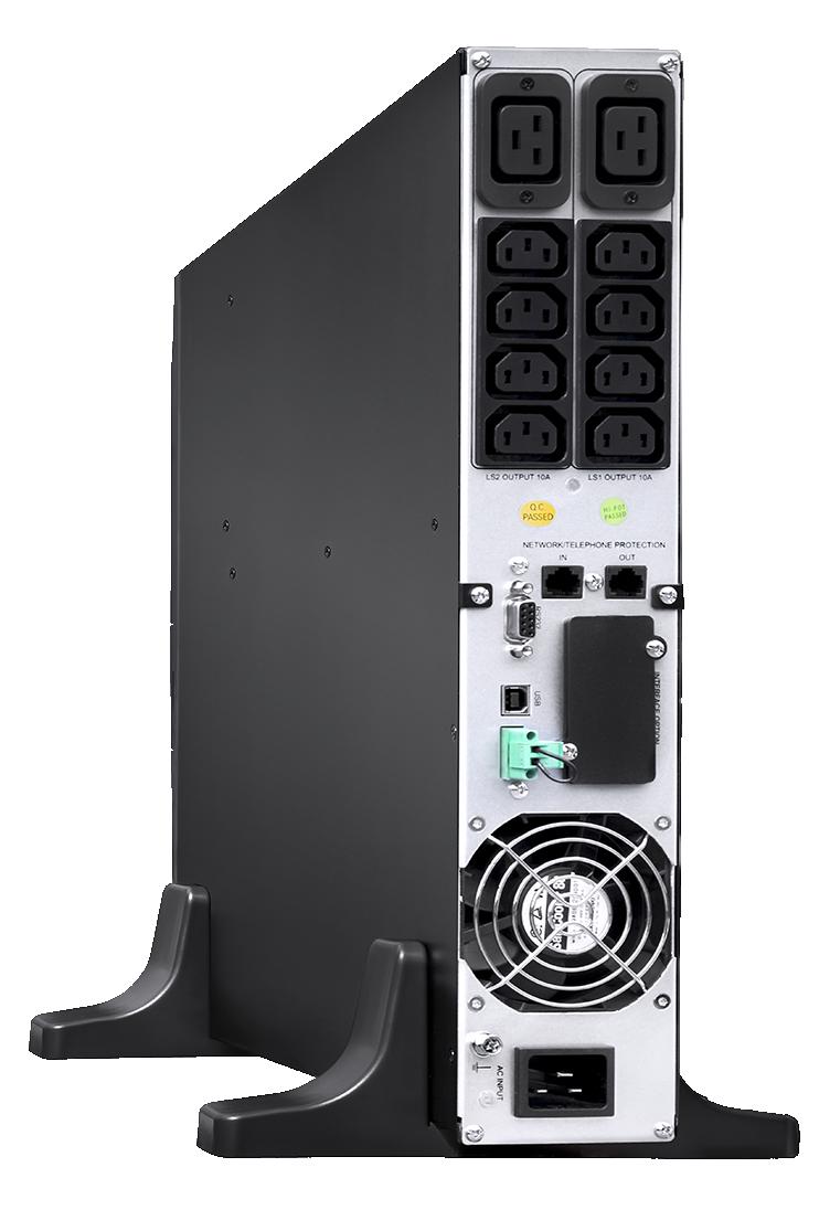 Zasilanie awaryjne szafy sieciowej UPS 3000VA