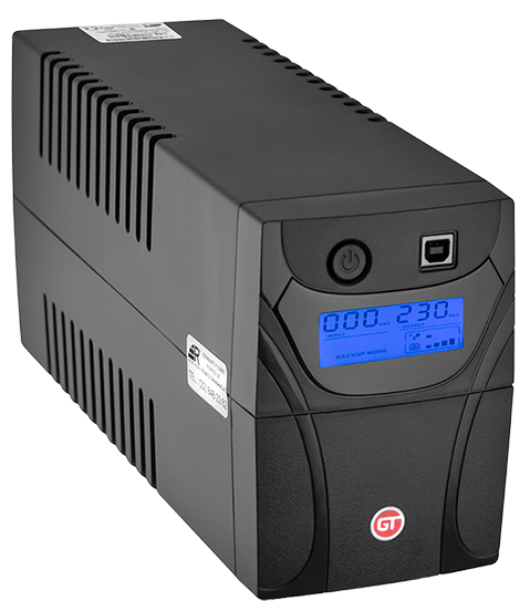 GT UPS Power Box 650VA Przód
