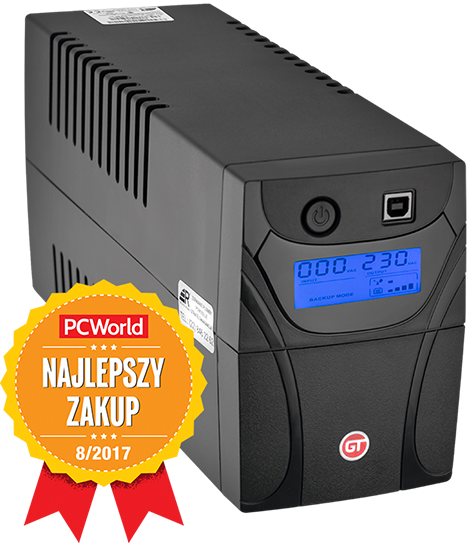 GT UPS Power Box 850VA Przód.png
