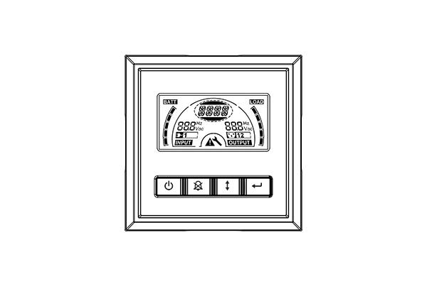 Wyświetlacz - UPS GT M